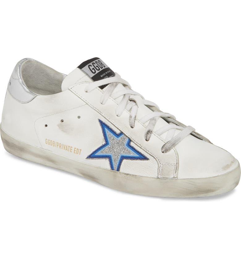 2eb4a633e6e Golden Goose Superstar Glitter Star Sneaker (Women) (Nordstrom ...