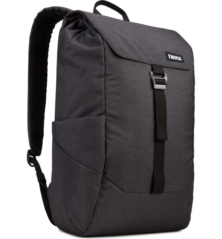 THULE Lithos Backpack, Main, color, BLACK
