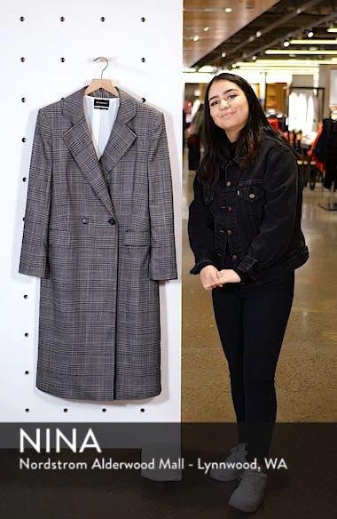 Plaid Topper Coat, sales video thumbnail