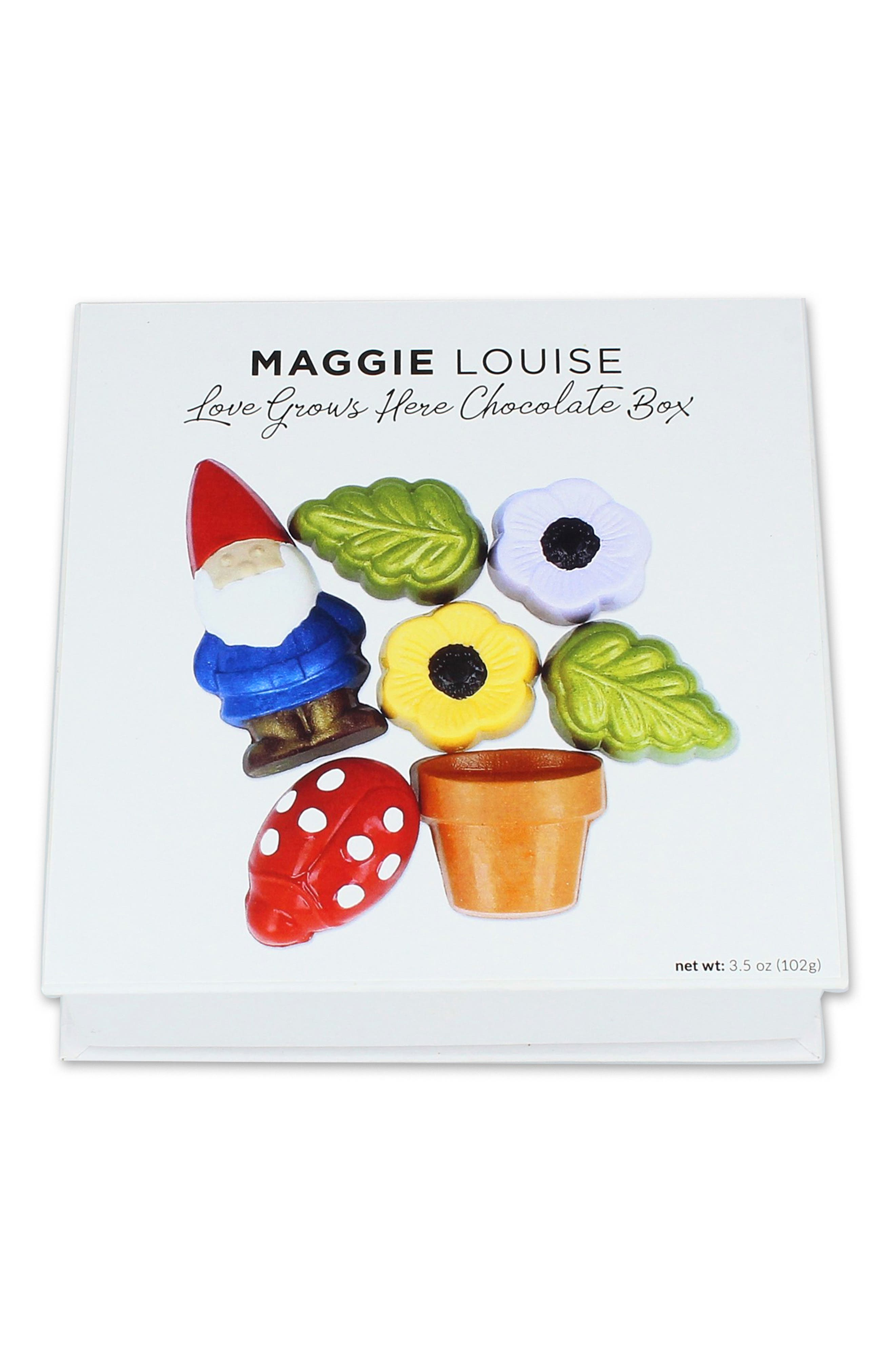 ,                             Love Grows Here 8-Piece Chocolate Set,                             Alternate thumbnail 3, color,                             100