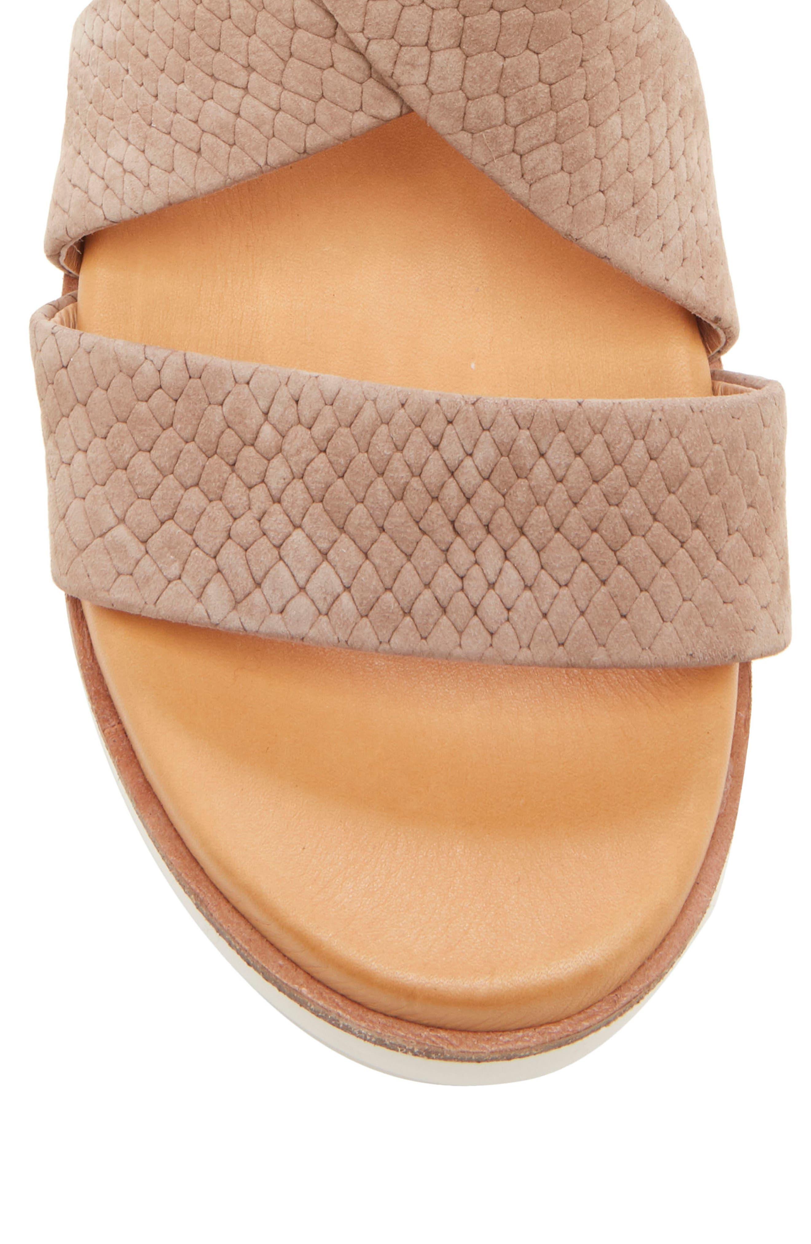 ,                             Bonneigh Platform Sandal,                             Alternate thumbnail 7, color,                             SMOKEY ASH EMBOSSED LEATHER