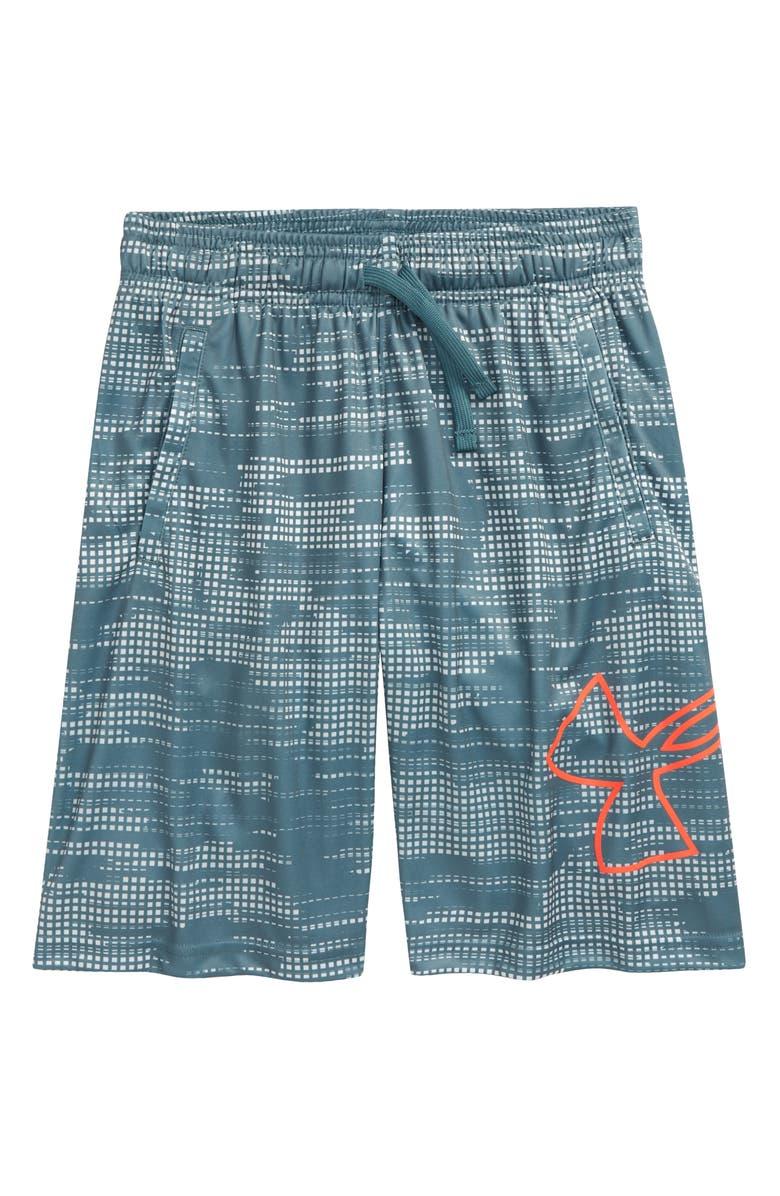 UNDER ARMOUR Renegade 2.0 Shorts, Main, color, LICHEN BLUE/ BETA