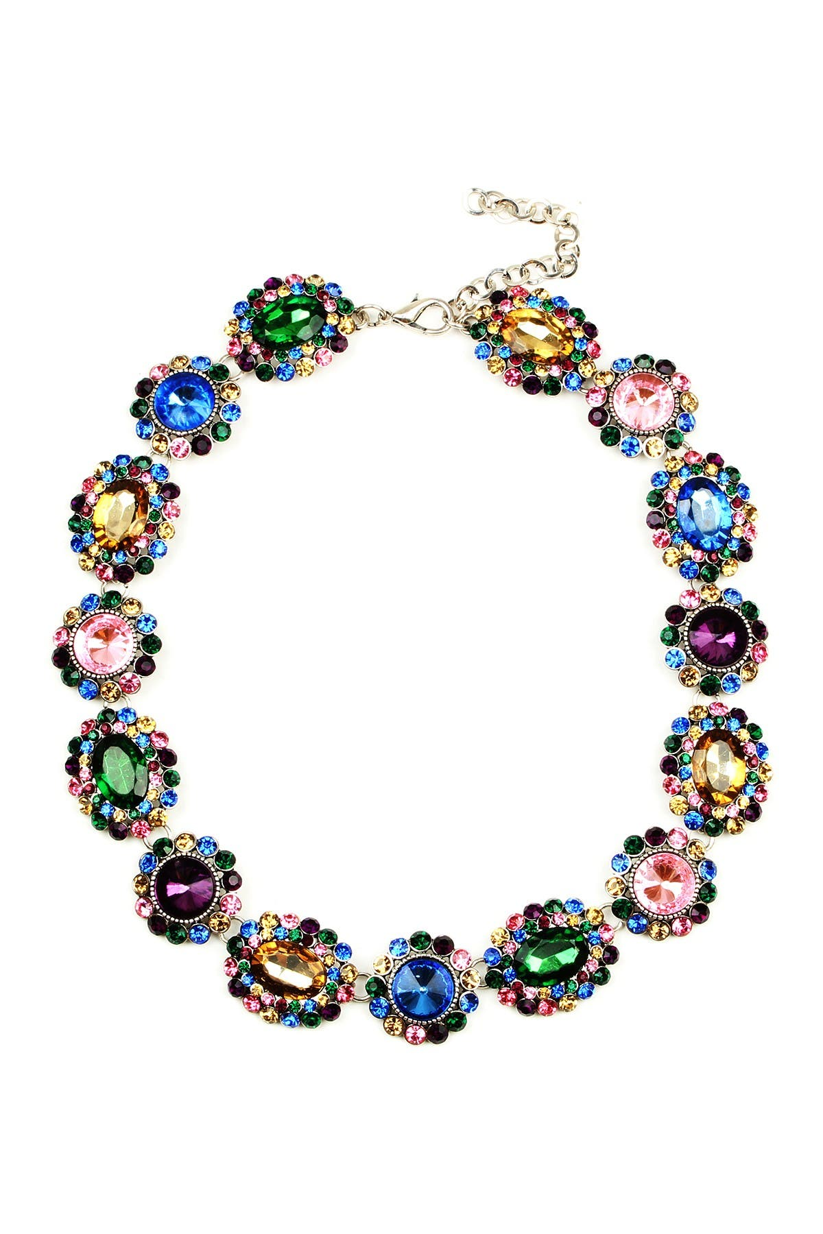 Image of Eye Candy Los Angeles Color Collar Necklace