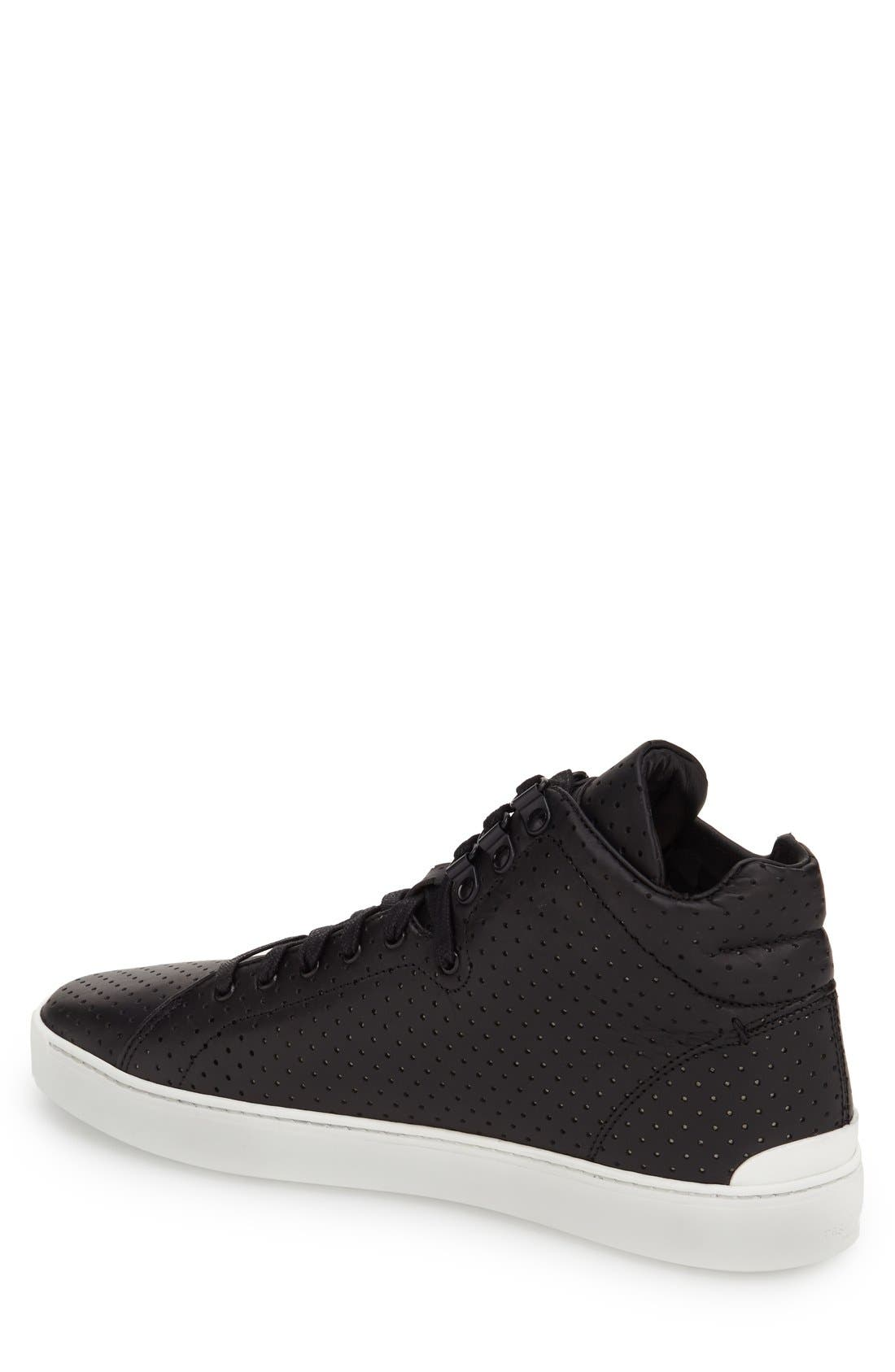 ,                             'Kent' Leather High Top Sneaker,                             Alternate thumbnail 8, color,                             009