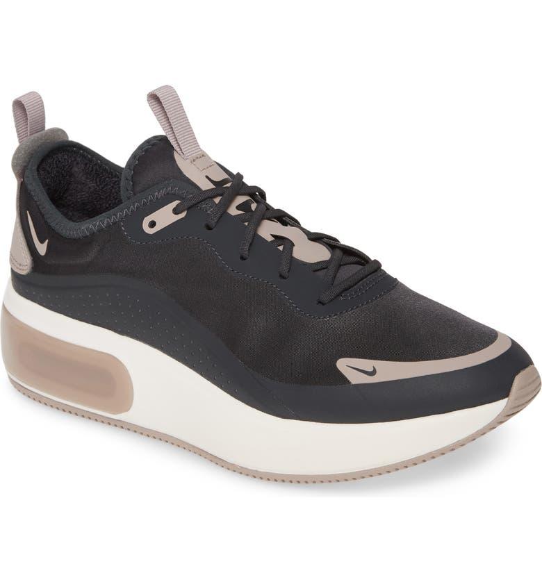 NIKE Air Max Dia Running Shoe, Main, color, OFF NOIR/ PUMICE/ BLACK/ WHITE