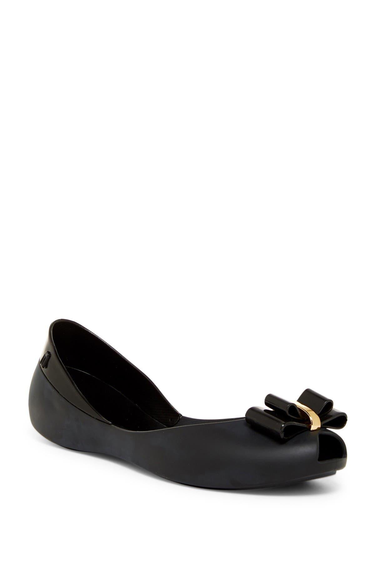 Image of Melissa Queen V Peep Toe Flat