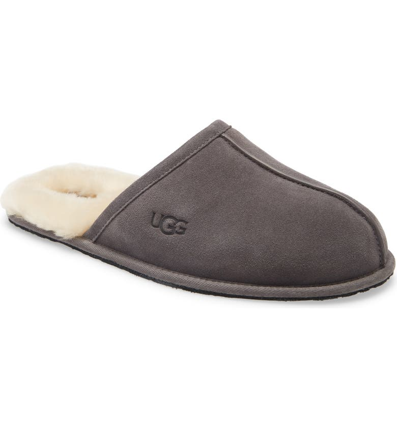 UGG<SUP>®</SUP> Scuff Slipper, Main, color, DARK GREY