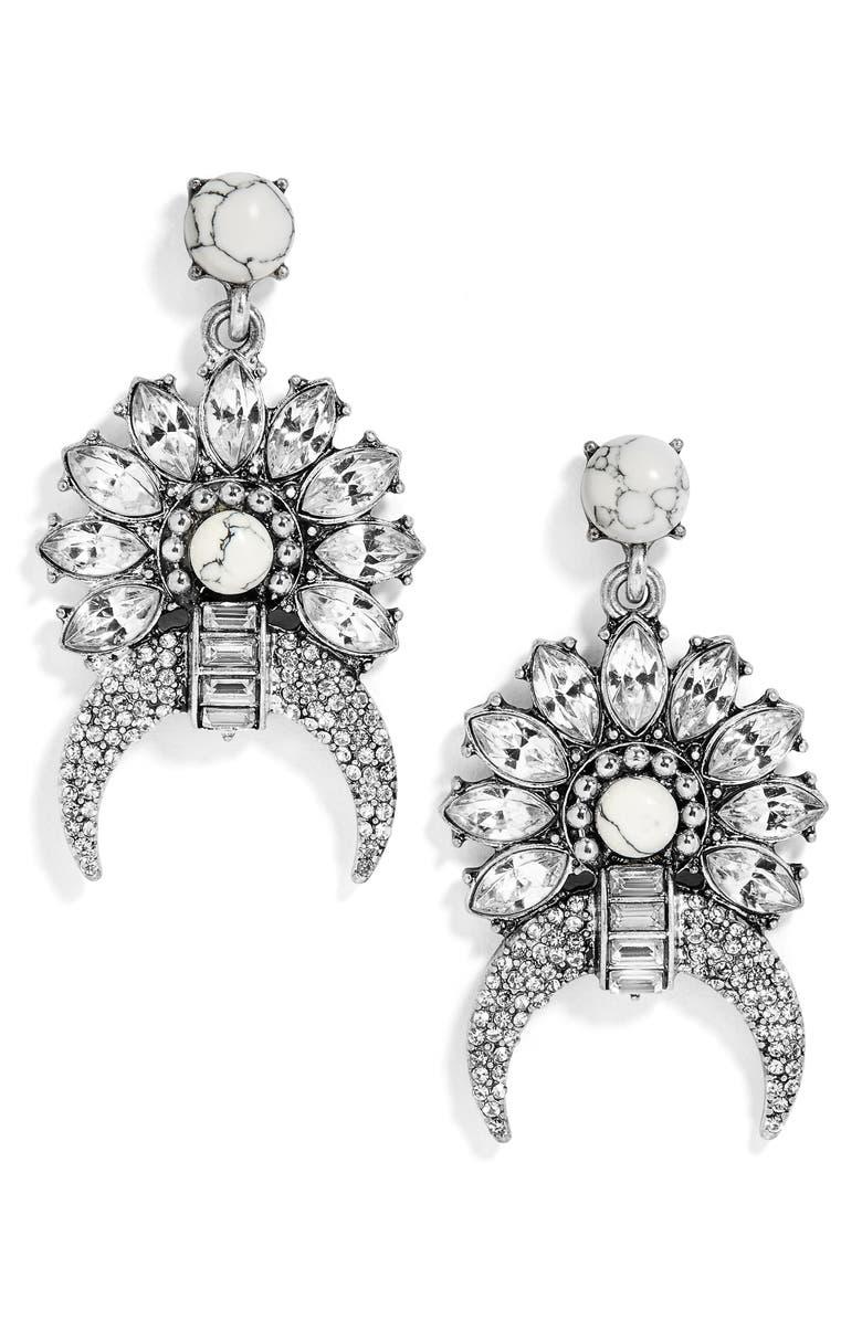 BAUBLEBAR Isadora Drop Earrings, Main, color, 040