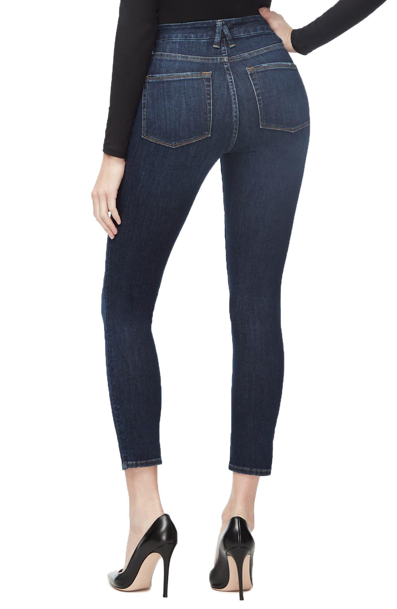 ,                             Good Legs Ankle Skinny Jeans,                             Alternate thumbnail 34, color,                             406