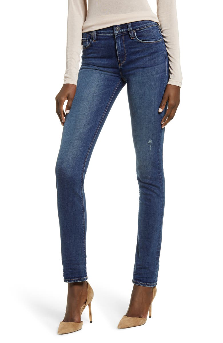 HUDSON JEANS Nico Straight Leg Jeans, Main, color, PRELUDE