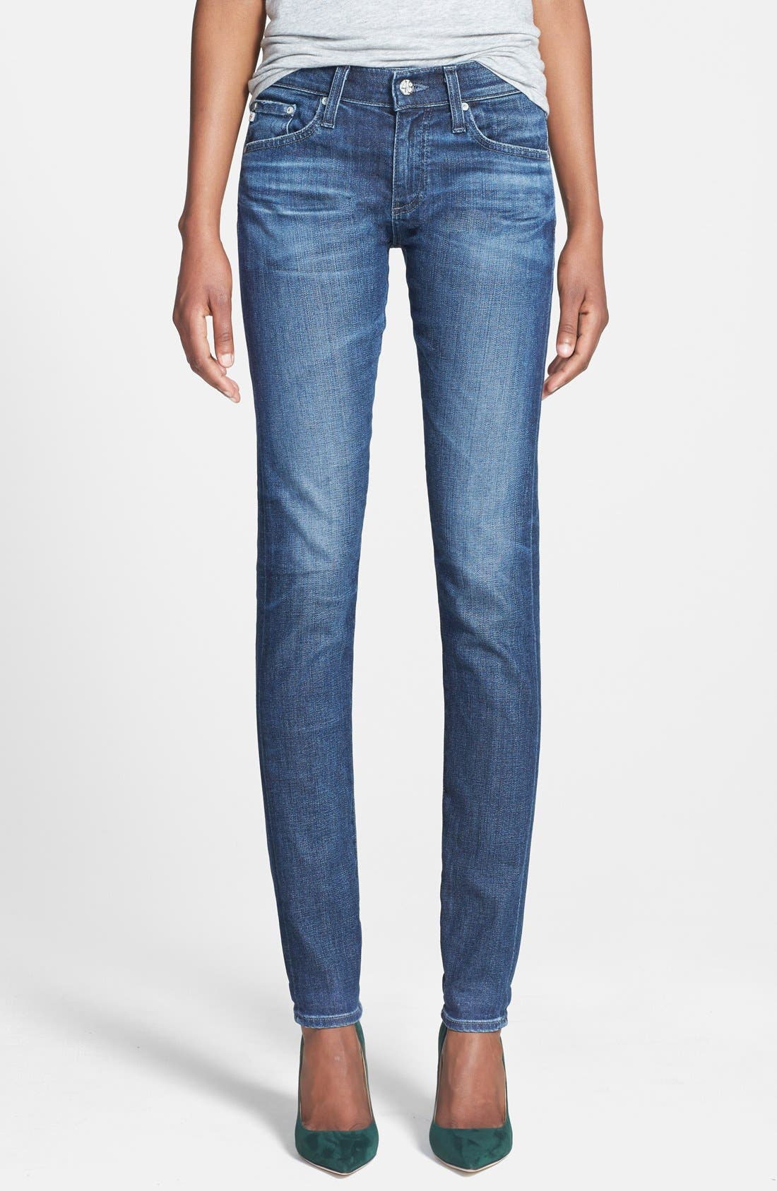 ,                             'The Nikki' Relaxed Skinny Jeans,                             Main thumbnail 6, color,                             470