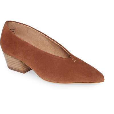 Seychelles Compelling Pointed Toe Pump, Brown