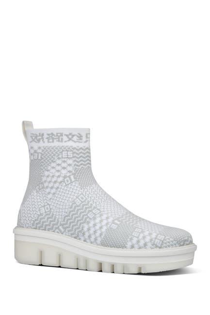 Image of Fitflop Swatchbook High-Top Sock Sneaker
