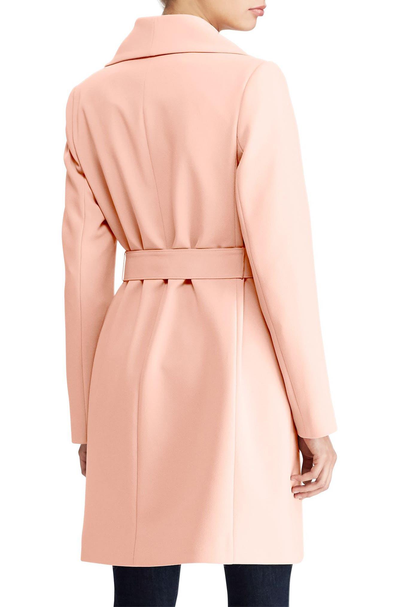,                             Belted Drape Front Coat,                             Alternate thumbnail 28, color,                             690