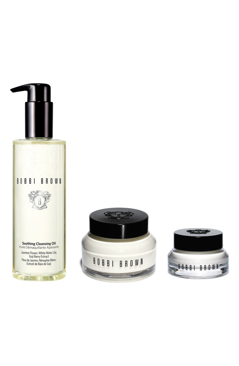 Bobbi Brown Cleanse Hydrate Full Size Skin Care Set 160 Value