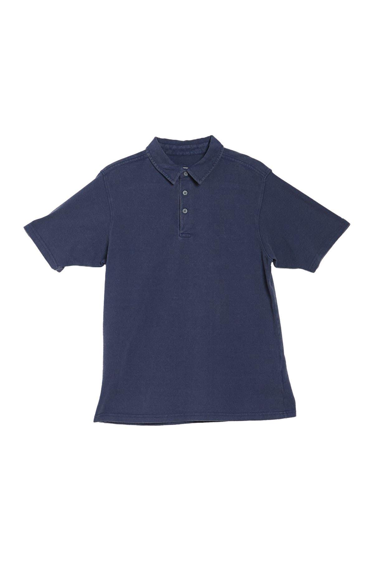 Image of COASTAORO Indy Pique Knit Short Sleeve Polo