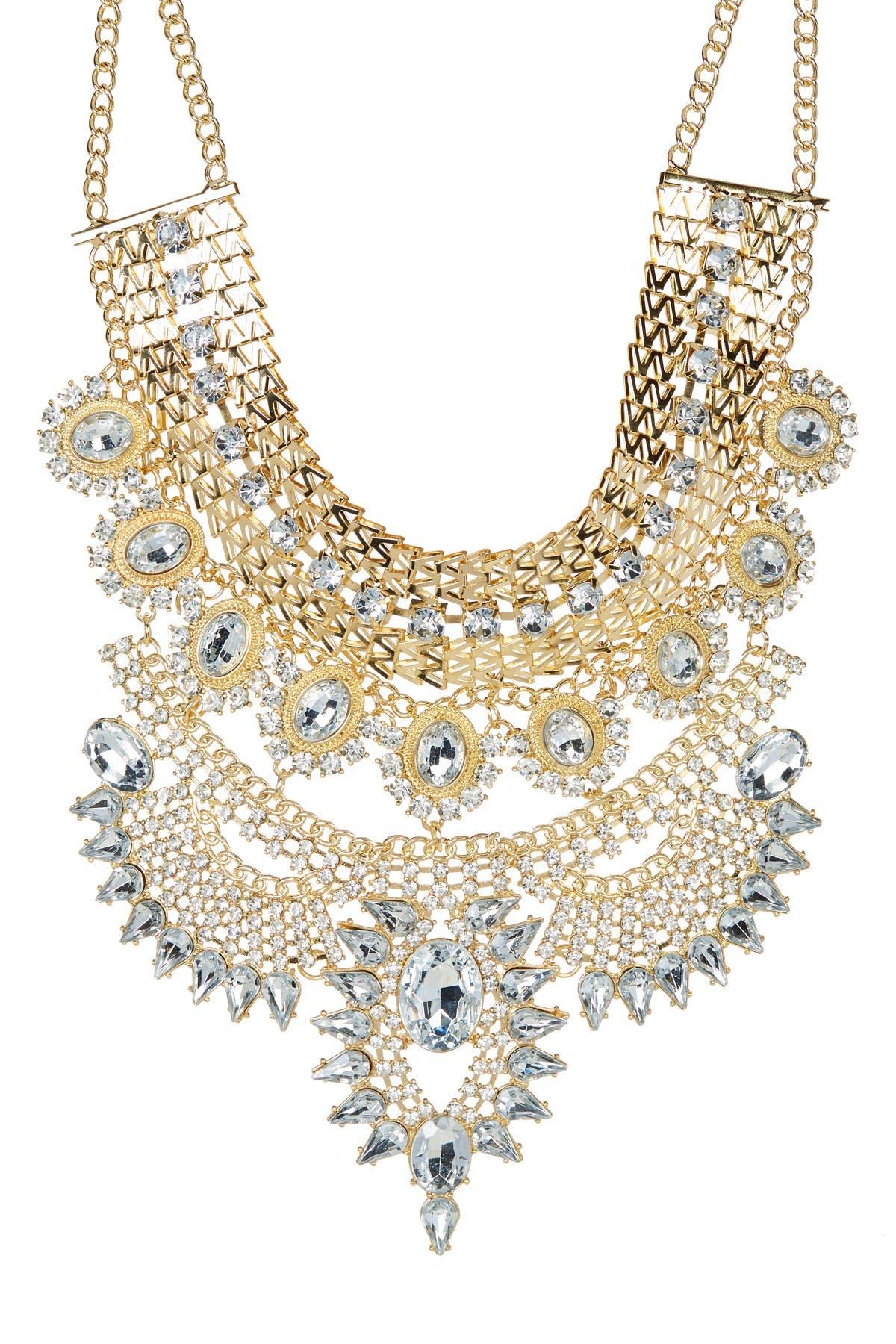 Image of Eye Candy Los Angeles Zania Bib Necklace