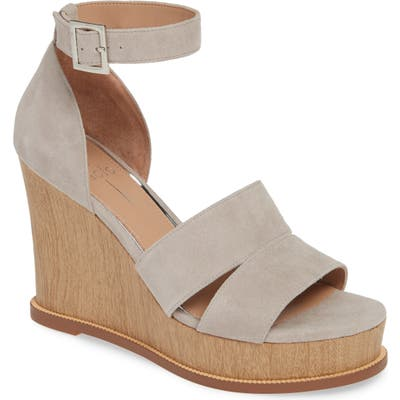 Linea Paolo Emma Wedge Sandal, Grey