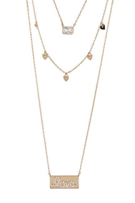 Image of Loren Olivia Love Layered Necklace Set