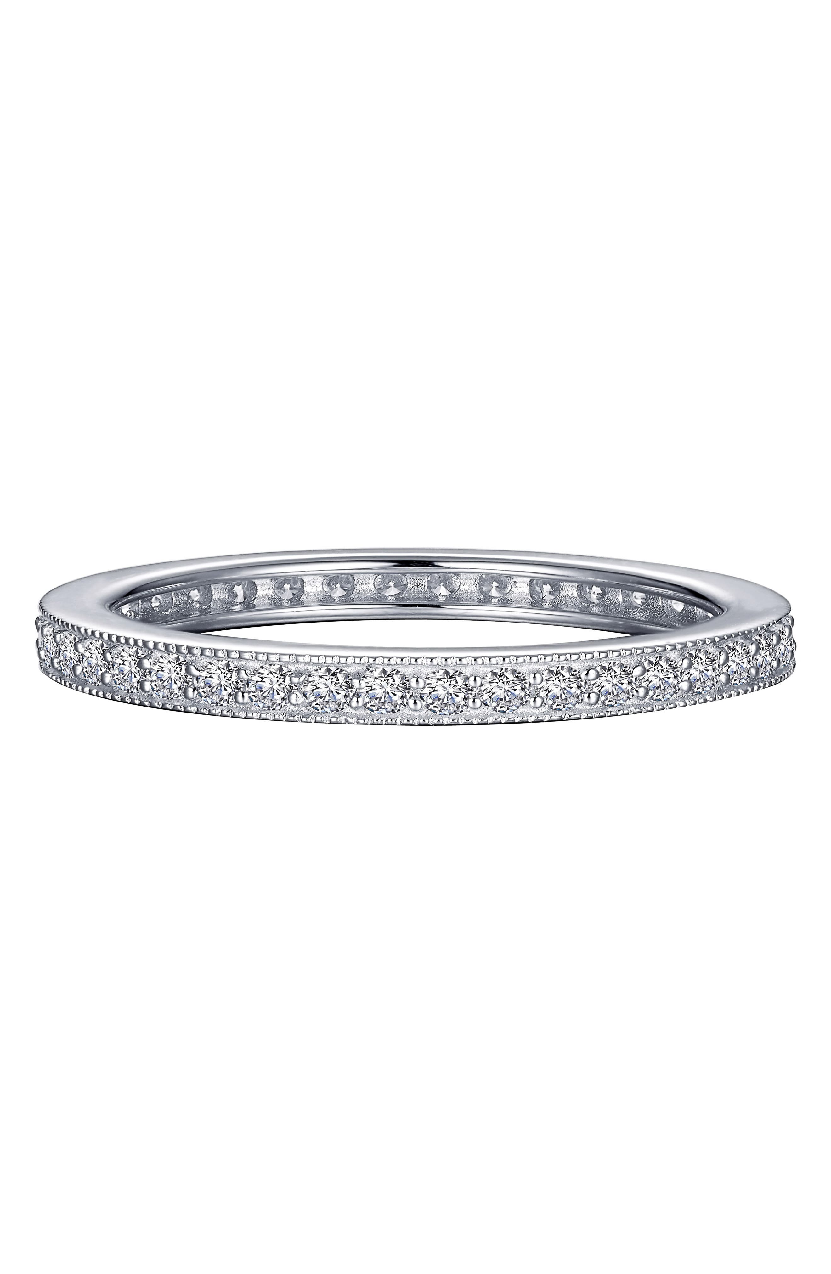 Stackable Eternity Band Ring