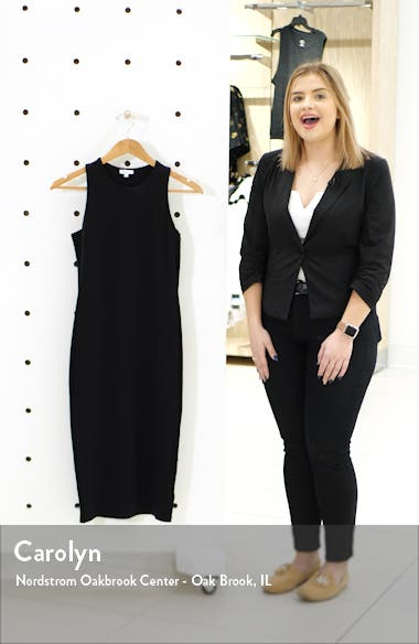 Stretch Double Face Sleeveless Dress, sales video thumbnail