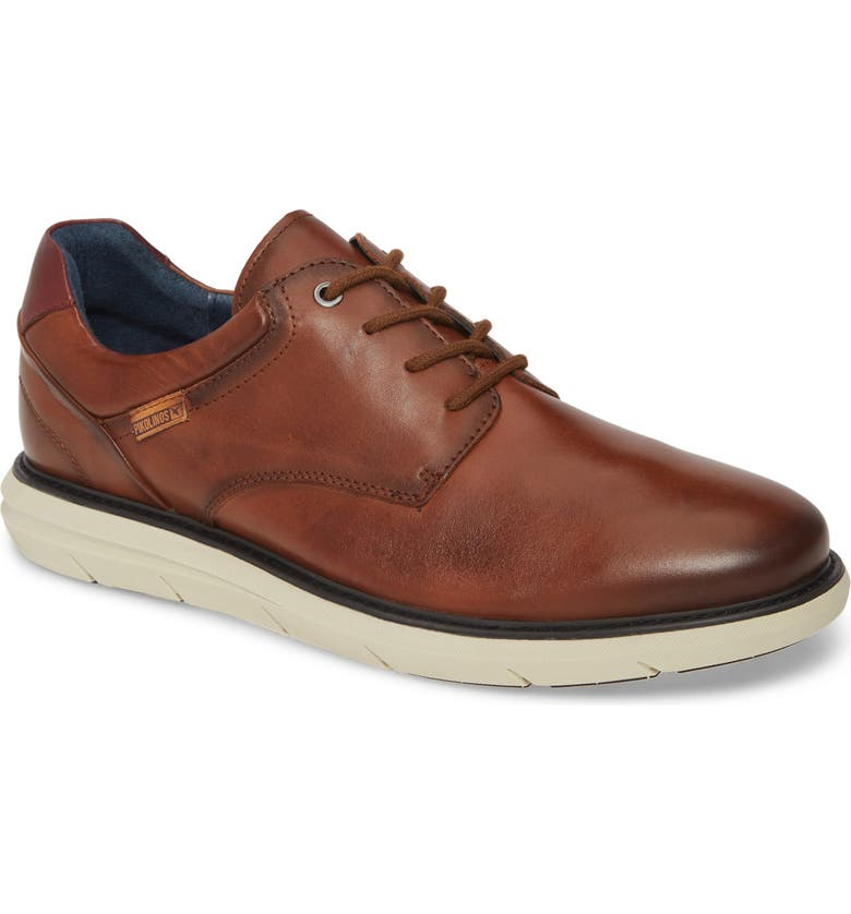 PIKOLINOS Amberes Derby, Main, color, BROWN LEATHER