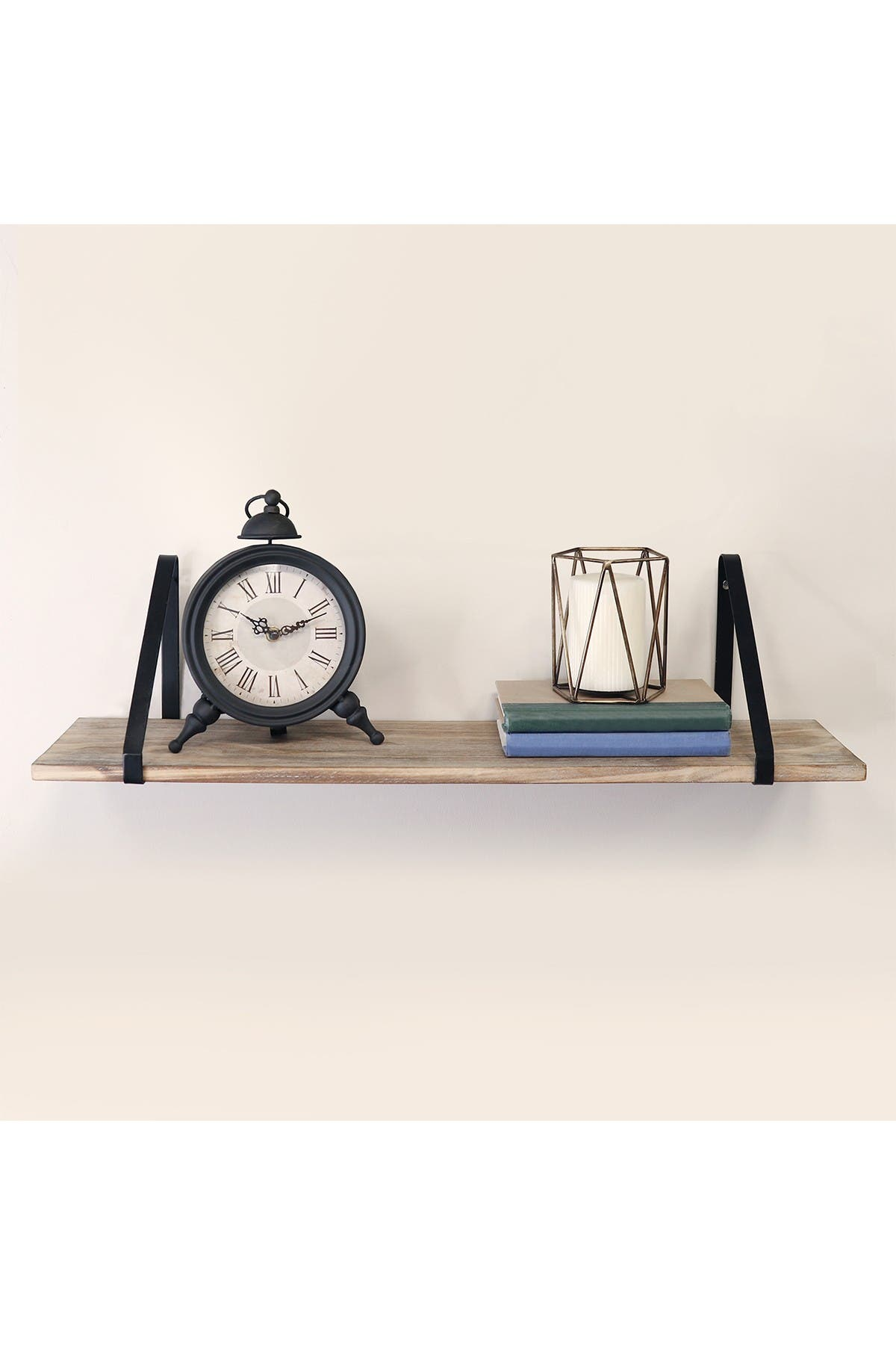 Image of Stratton Home Natural Wood Shelf