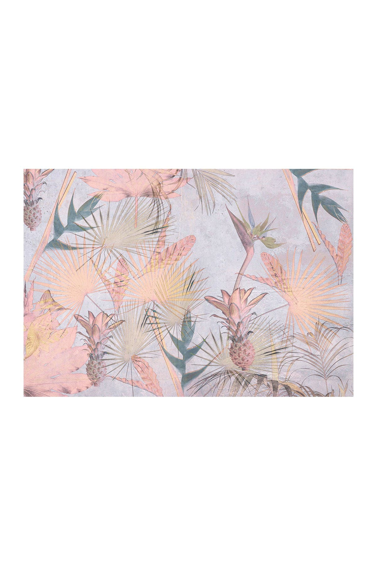 Image of WallPops! Tropical Concrete Wall Mural