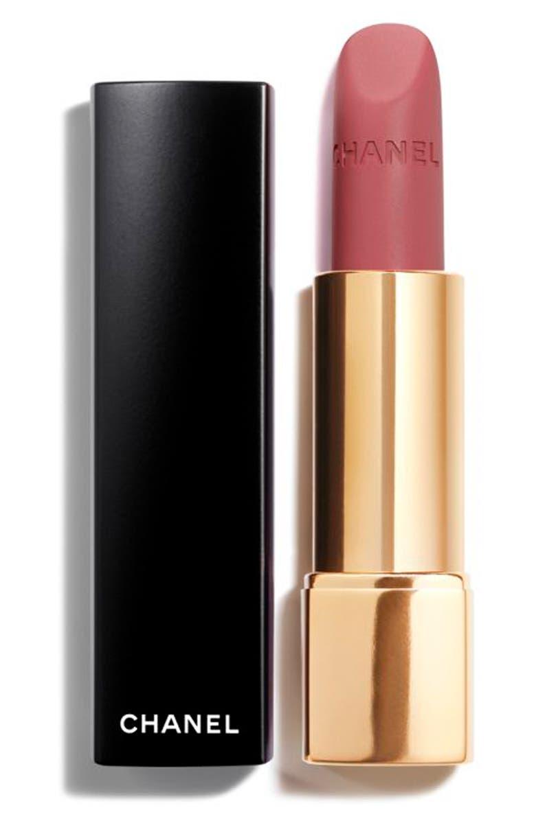 CHANEL ROUGE ALLURE VELVET <br />Luminous Matte Lip Colour, Main, color, 69 ABSTRAIT