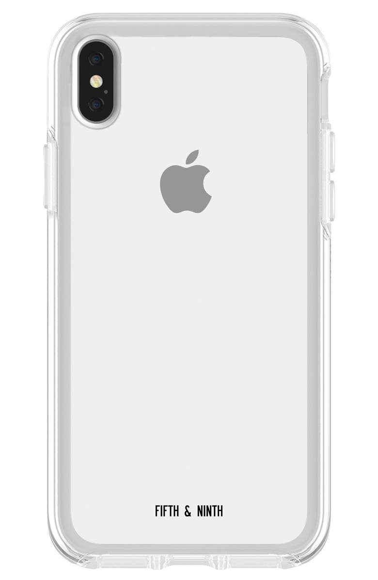FIFTH & NINTH Bare iPhone X/Xs, Xs Max & XR Case, Main, color, CLEAR