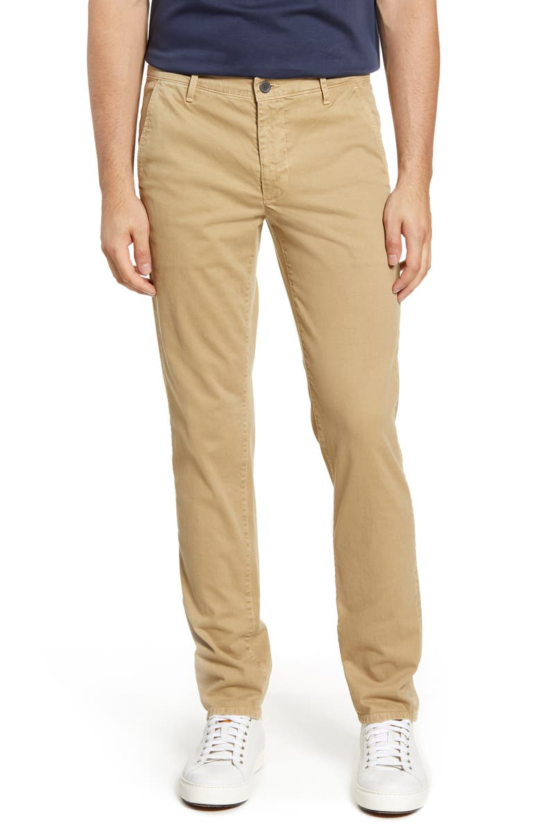 AG Marshall Textural Print Slim Fit Pants, Main, color, RIDDLE PASTY