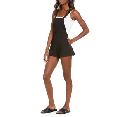 Lira Clothing Fields Romper, Black