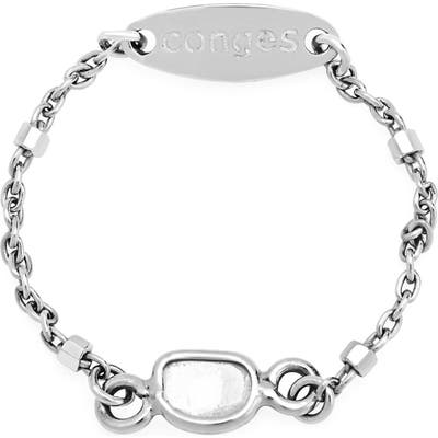 Conges Sliced-Diamond Bar Chain Ring
