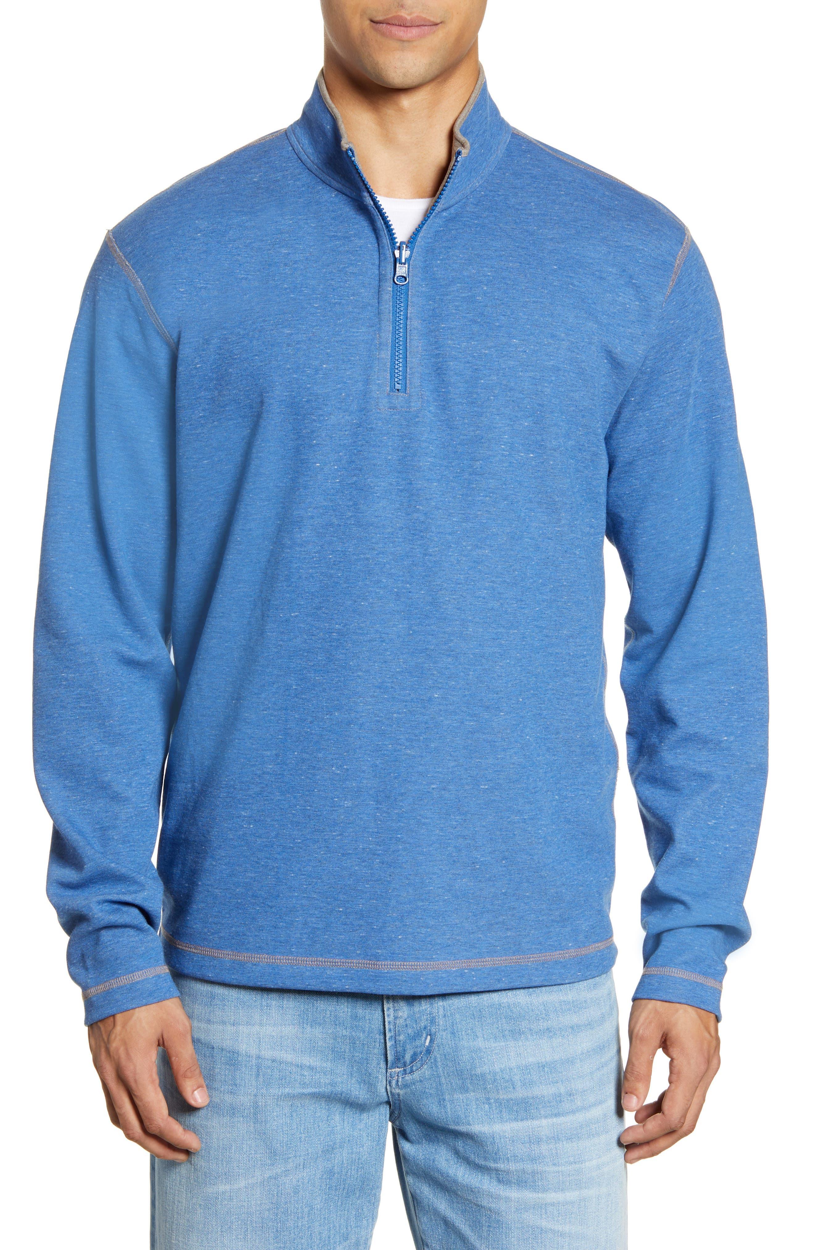 Alister Reversible Quarter Zip Pullover