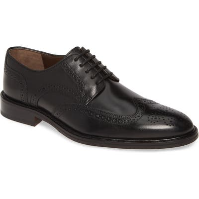 Johnston & Murphy Daley Wingtip Derby W - Black
