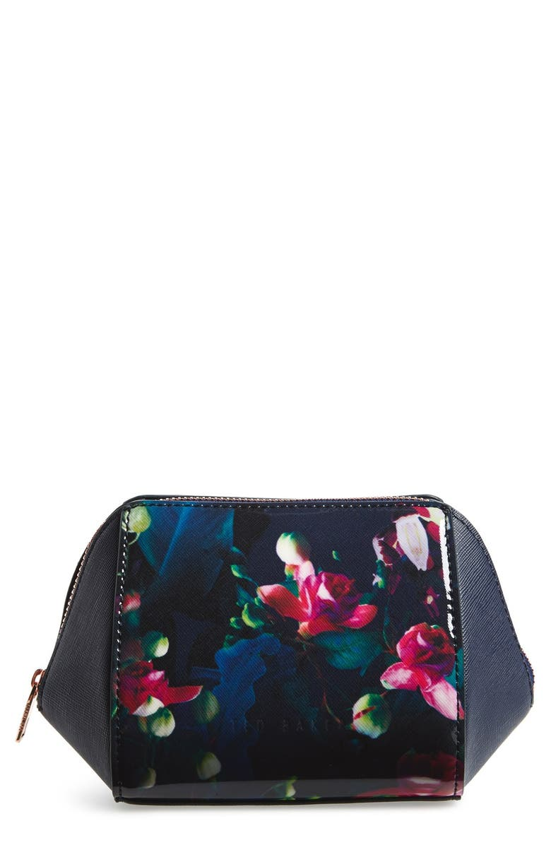 TED BAKER LONDON Small Cosmetics Case, Main, color, 400