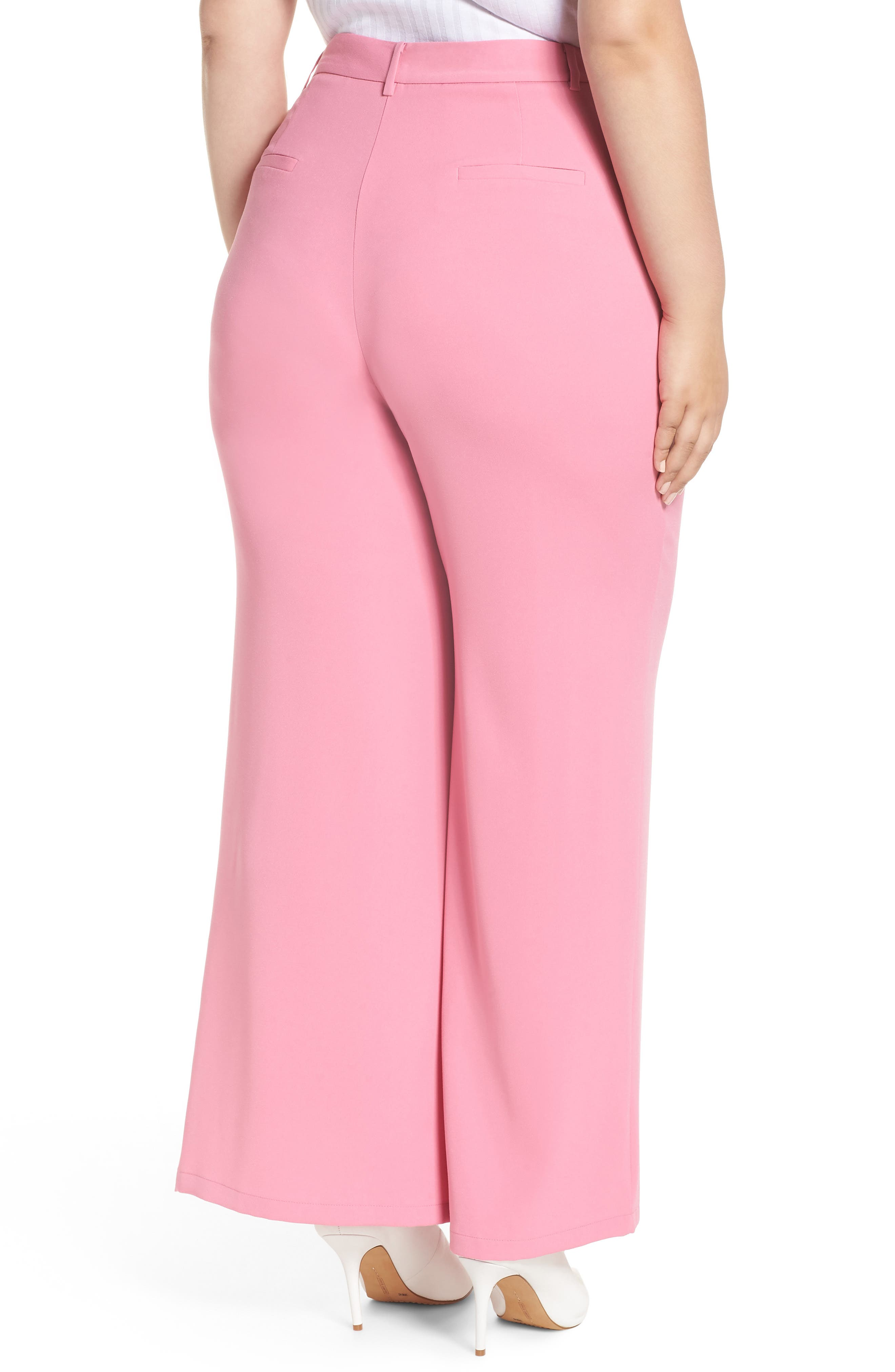 ,                             High Waist Flare Pants,                             Alternate thumbnail 33, color,                             660