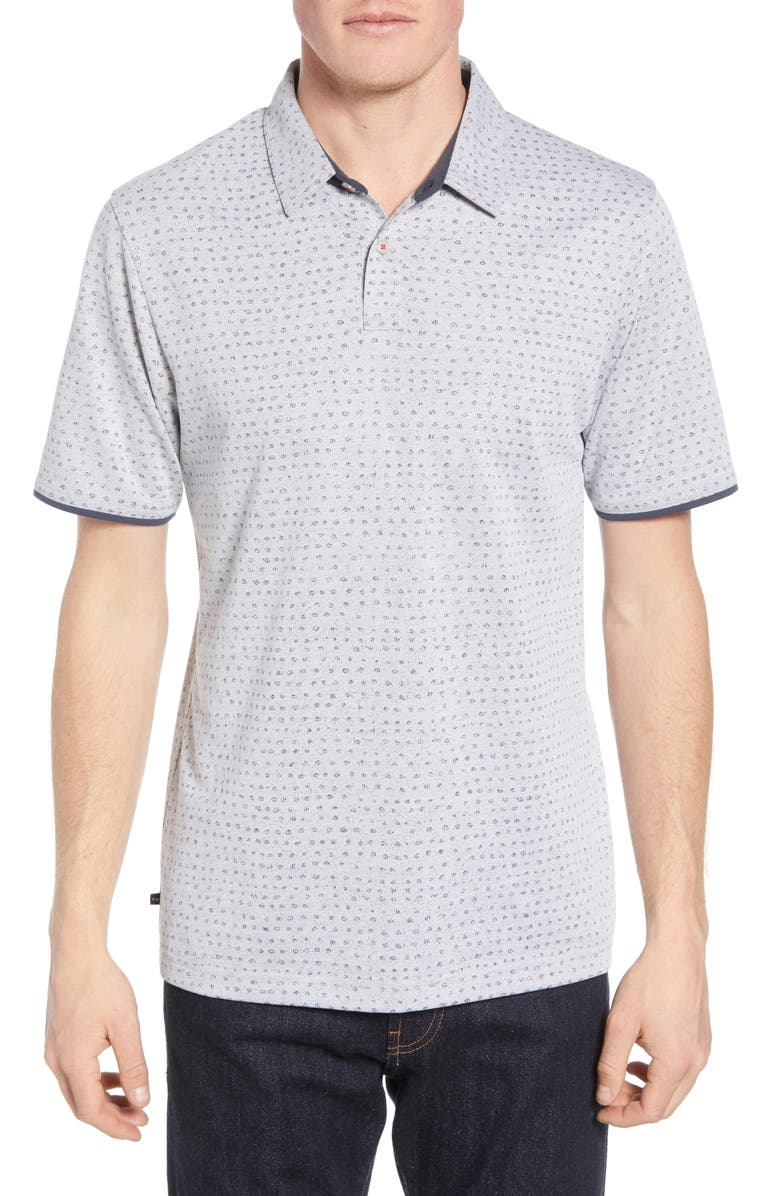 TRAVISMATHEW Nailed It Regular Fit Polo, Main, color, 020