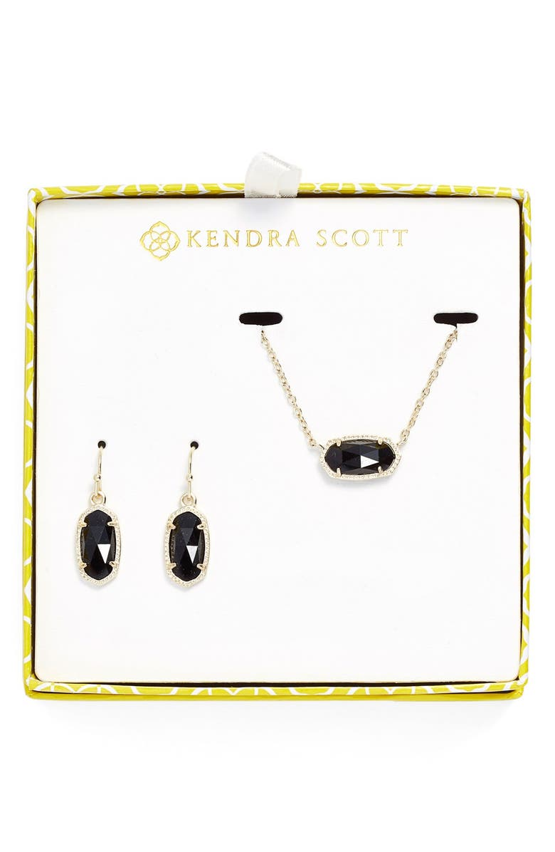 KENDRA SCOTT Necklace & Earrings Set, Main, color, 001