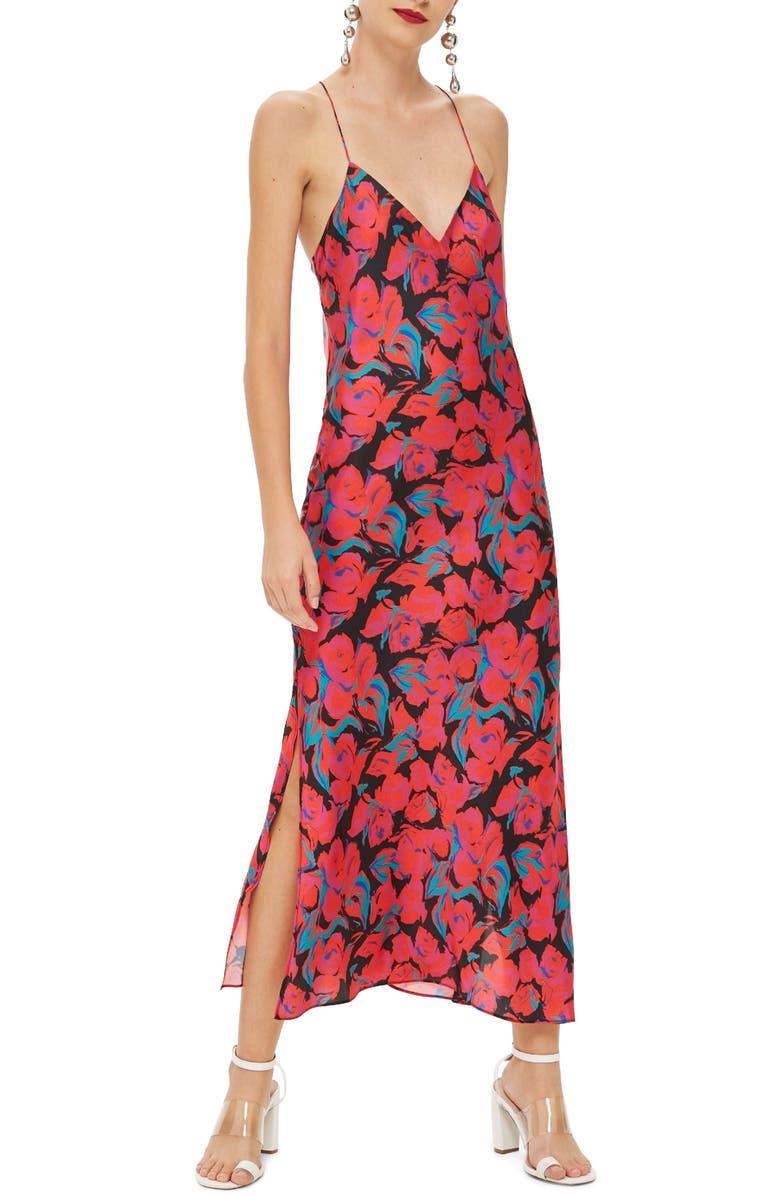 8710942f97b Topshop Floral Satin Slipdress | Nordstrom