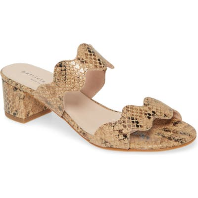 Patricia Green Palm Beach Slide Sandal, Beige
