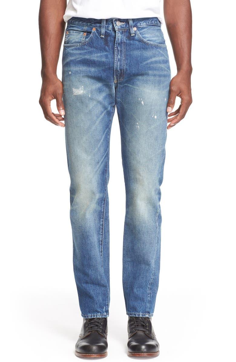 af23d970e6c Levi's® Vintage Clothing '1954 501®' Slim Fit Distressed Jeans ...