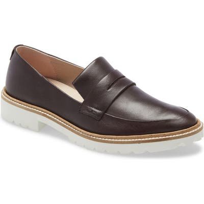 Ecco Incise Penny Loafer, Brown