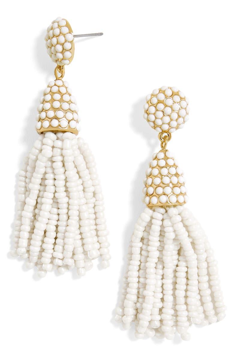 BAUBLEBAR Mini Pinata Tassel Drop Earrings, Main, color, 250