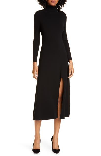 A.l.c Dresses Ambrose Long Sleeve Turtleneck Midi Dress