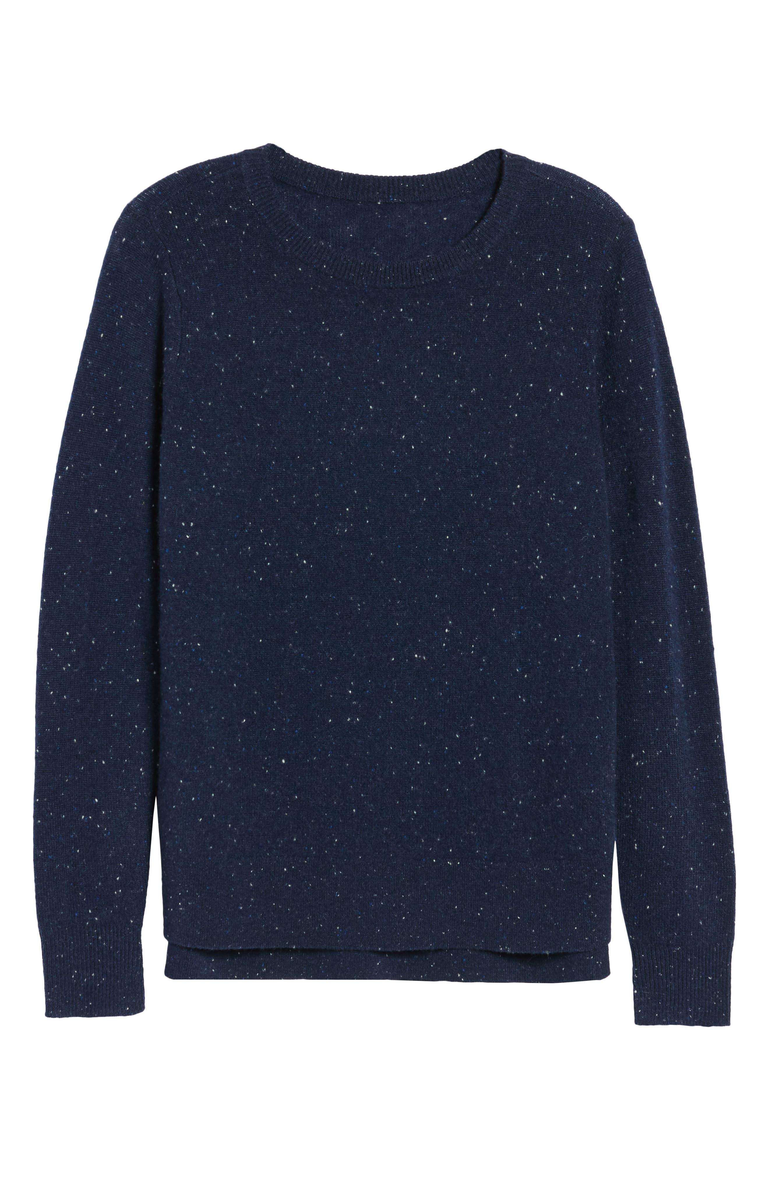 ,                             Crewneck Cashmere Sweater,                             Alternate thumbnail 97, color,                             410