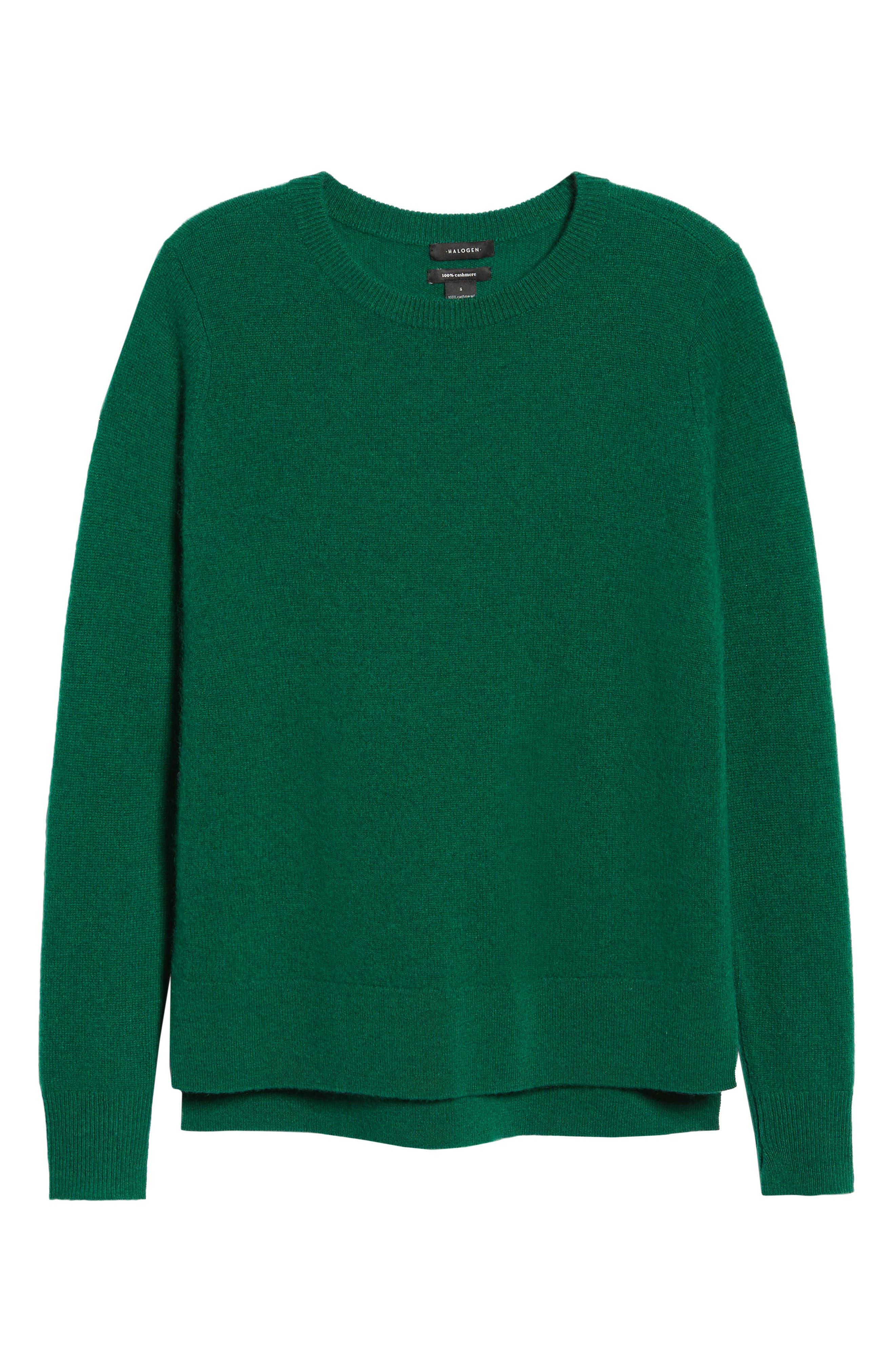 ,                             Crewneck Cashmere Sweater,                             Alternate thumbnail 87, color,                             301