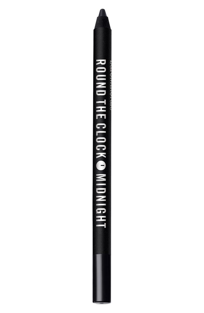 BAREMINERALS<SUP>®</SUP> Round the Clock Intense Cream-Glide Eyeliner, Main, color, MIDNIGHT