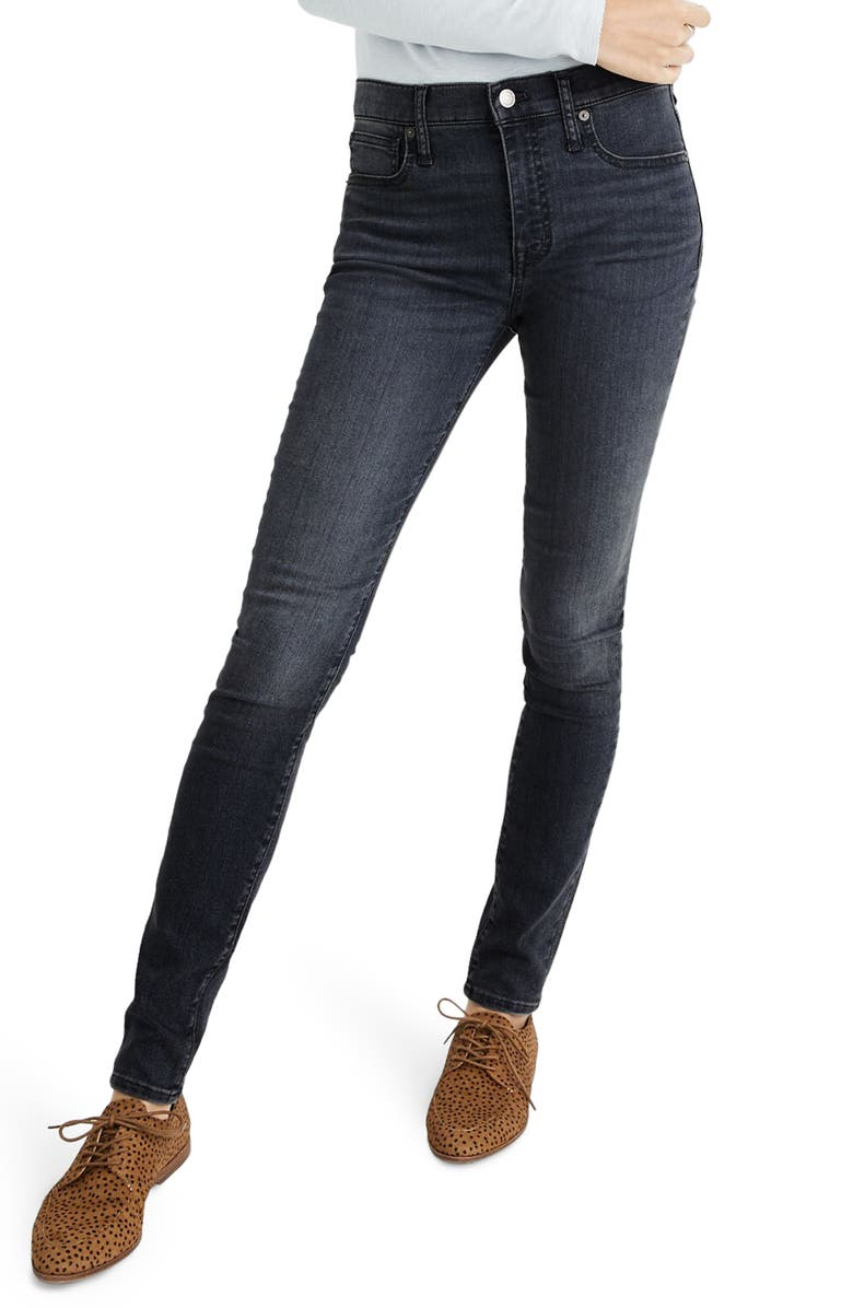 MADEWELL 9-Inch Skinny Jeans, Main, color, 020