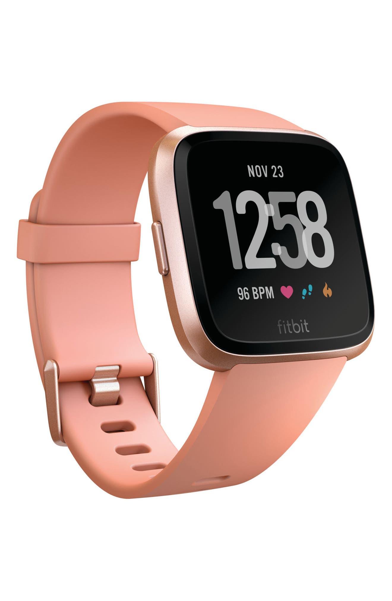Image of Fitbit Versa Touchscreen Smartwatch, 34mm